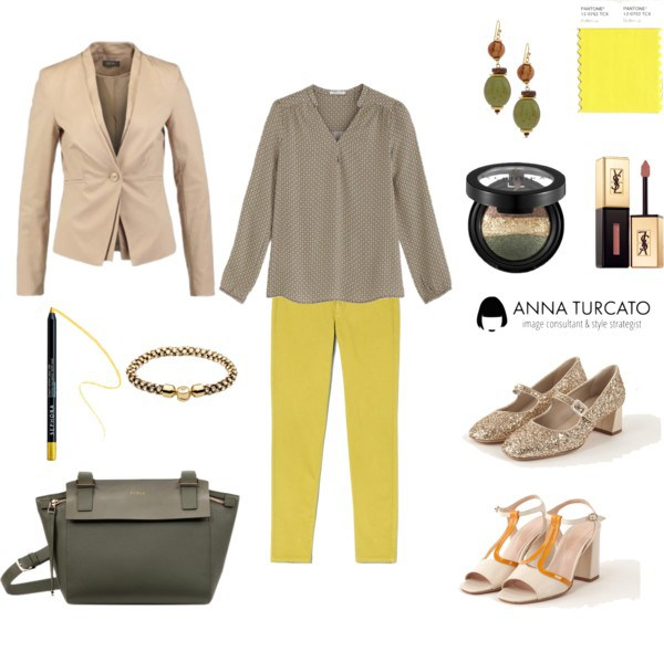 Spring office look by annaturcato featuring a safari blazer