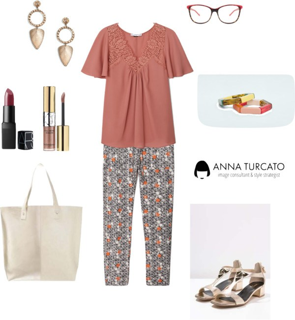 Autumn girl in summer di annaturcato contenente colorful jewelry