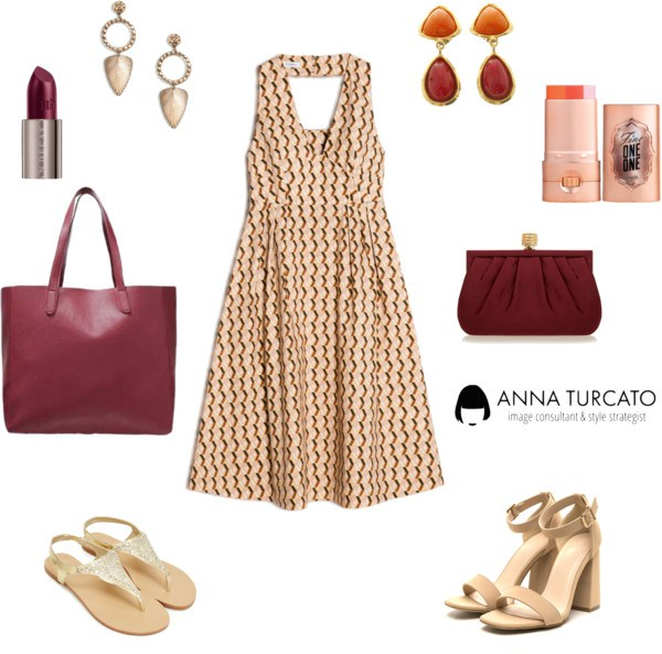 Autumn lady in Summer by annaturcato featuring a man bag