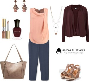 Autumn Curvy Lady by annaturcato featuring a plus size trousers