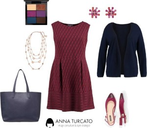 Autumn Curvy Lady by annaturcato featuring a charm necklace