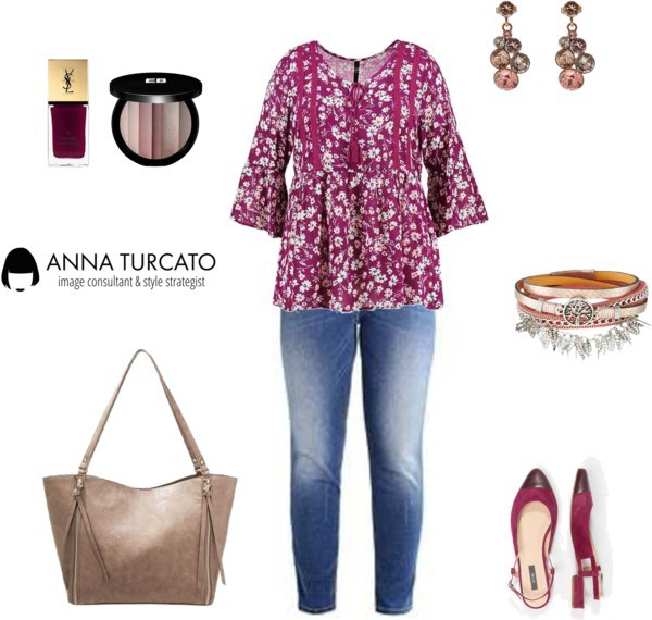 Curvy look by annaturcato featuring a nail polish