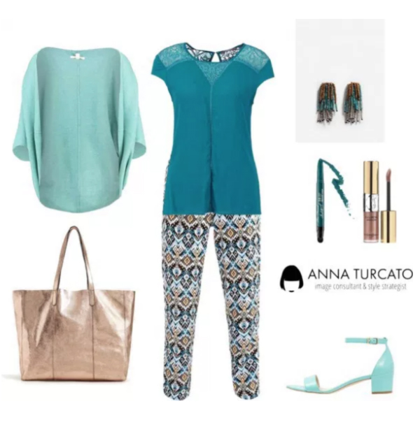 Shiny Look di annaturcato contenente multi colored jewelry