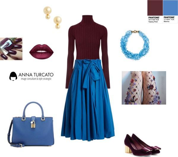 Marina + Tawny Port by annaturcato featuring a grey pantyhose