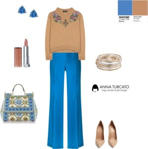 Marina + Butterum by annaturcato featuring a silk trousers