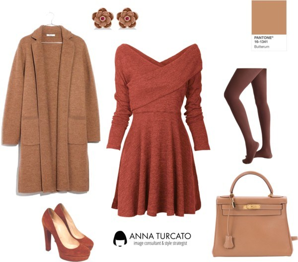 Anna-Turcato-Orange-Dress