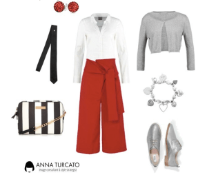 Curvy look by annaturcato featuring a zipper trousers
