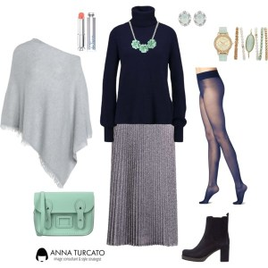 Anna-Turcato-Pleated-Silver-Skirt