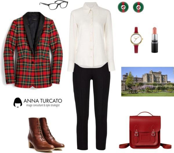 Anna-Turcato-Tartan-Look