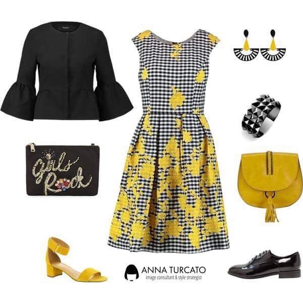 Outfit per abbinare il giallo