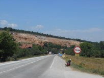 Mein Spot kurz hinter der serbischen Grenze