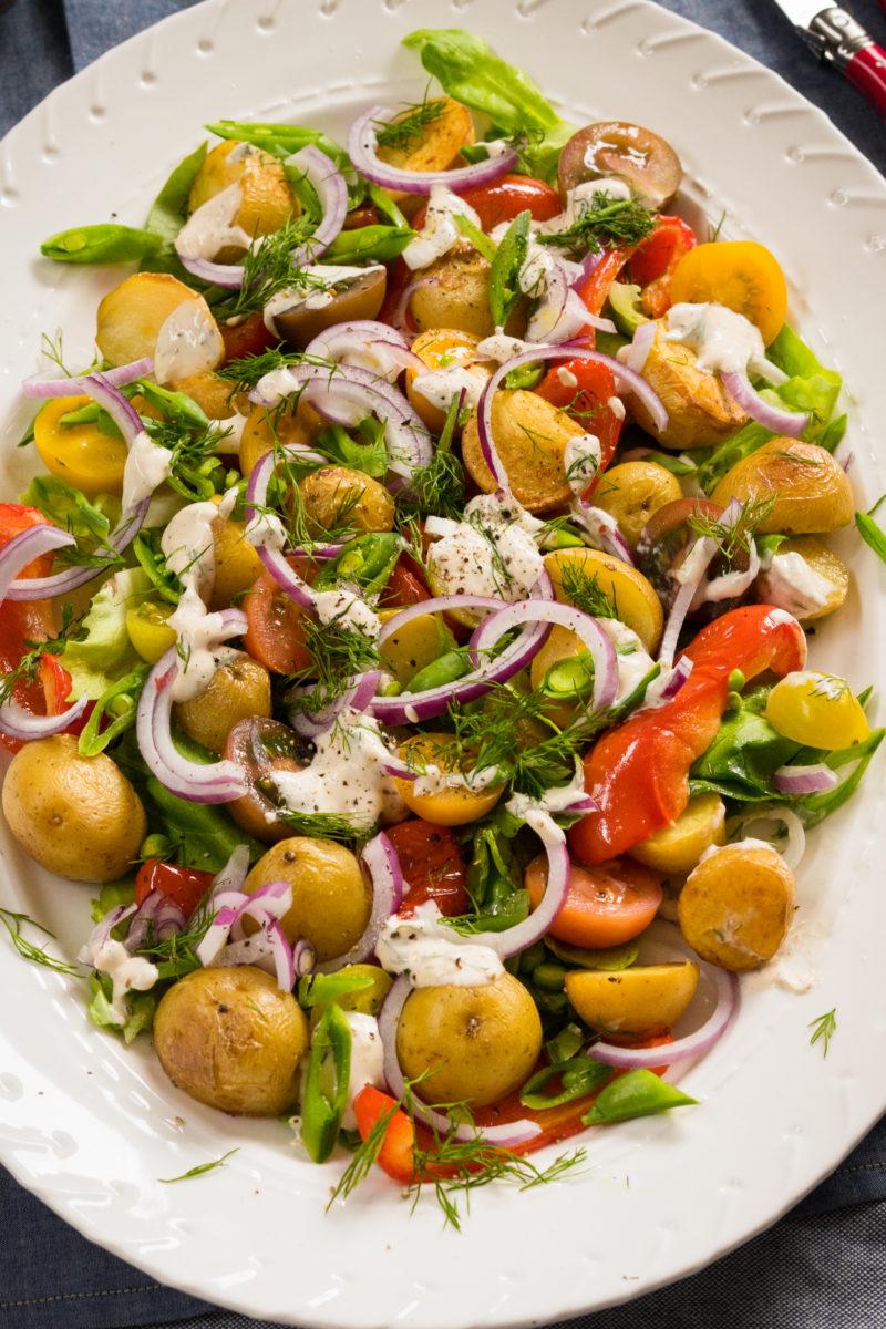 Modern Garden Salad