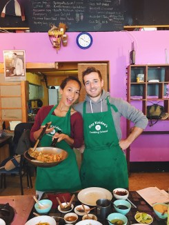 Cooking class in Chiang Mai w/ Julien