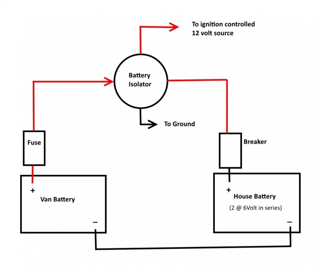 Rv Battery Isolator Wiring Diagram