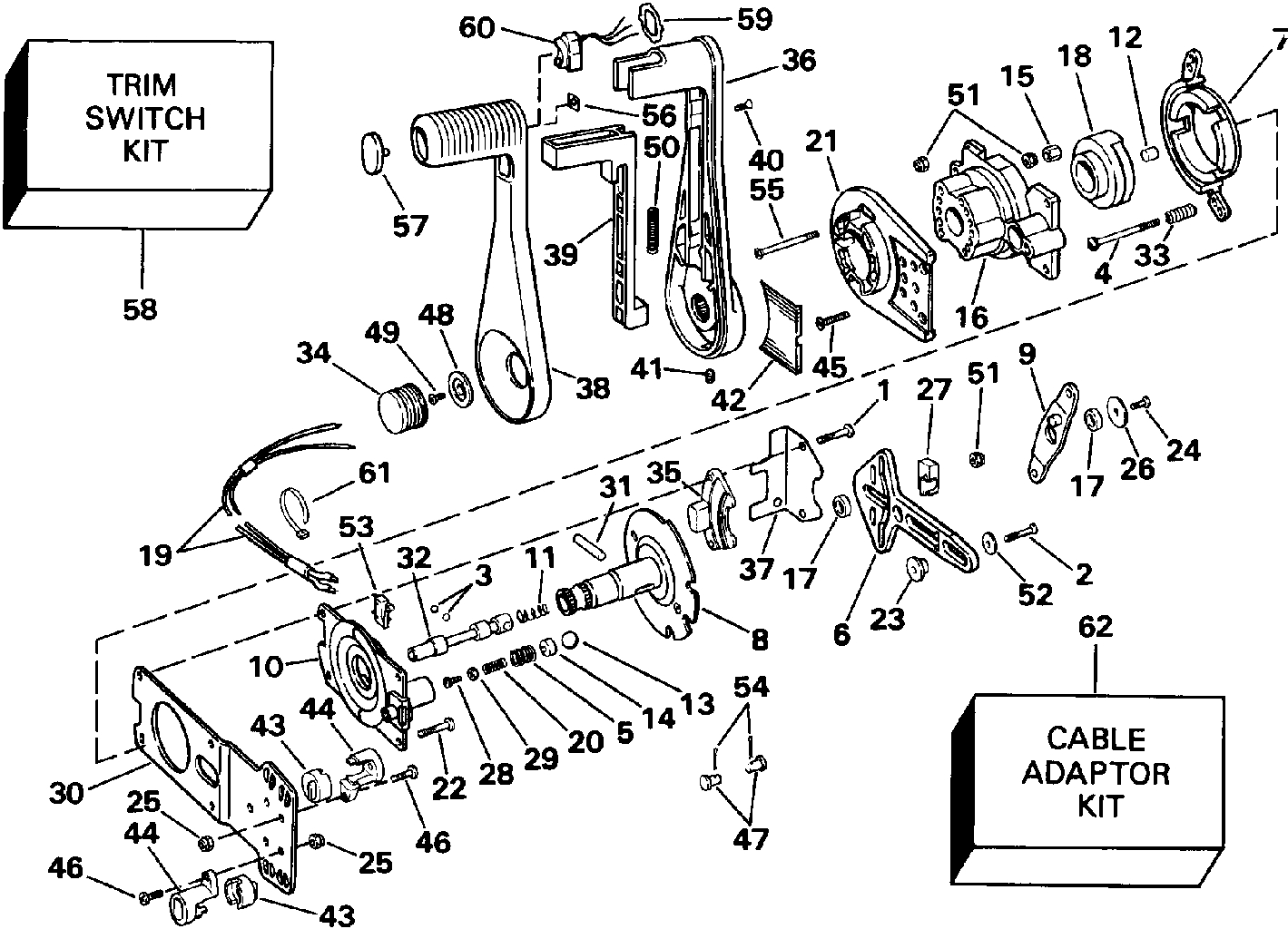 Evinrude Wiring Harness Diagram