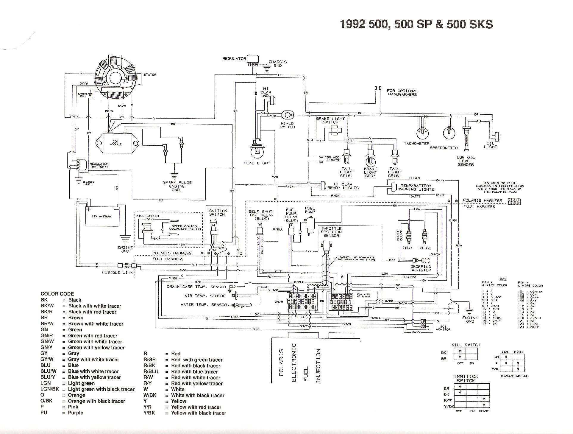 03 Magnum 330 4x4 Volt Reg Issue