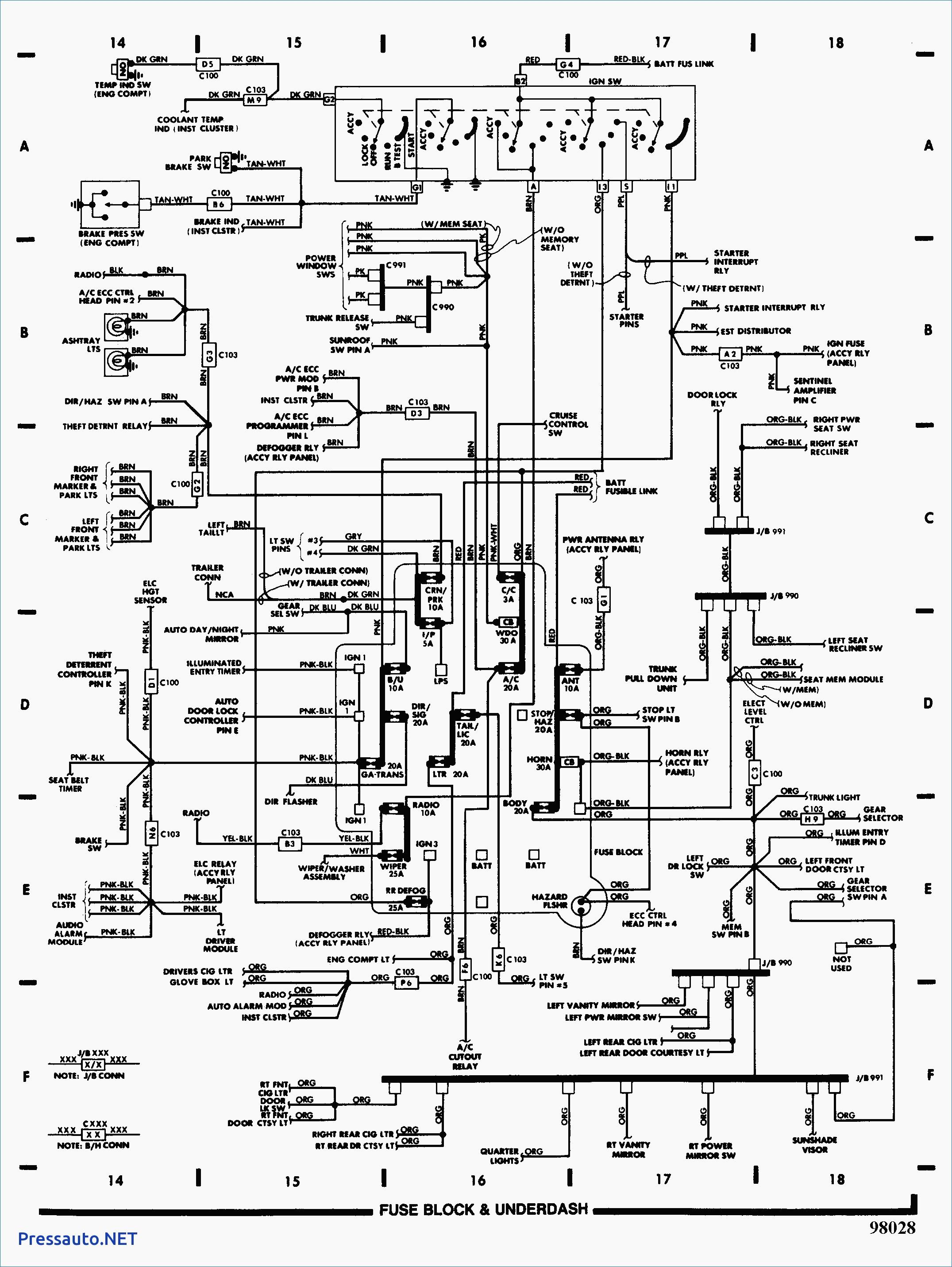 700r4 Wiring Diagram