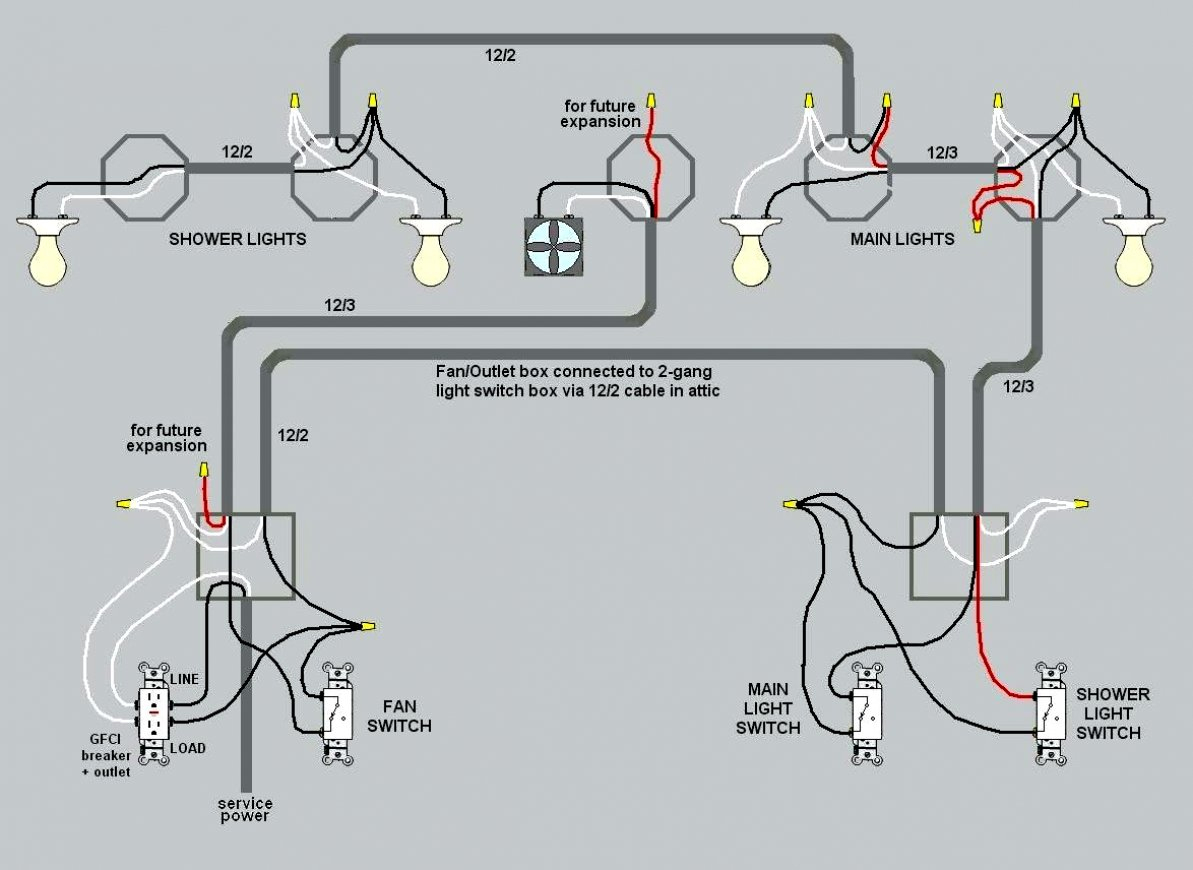 Wiring Two Lights To One Switch Diagram