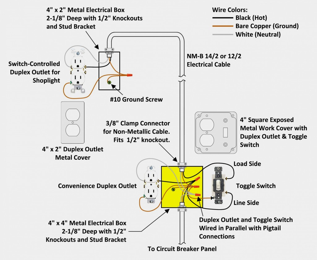 Light Socket Wiring Diagram