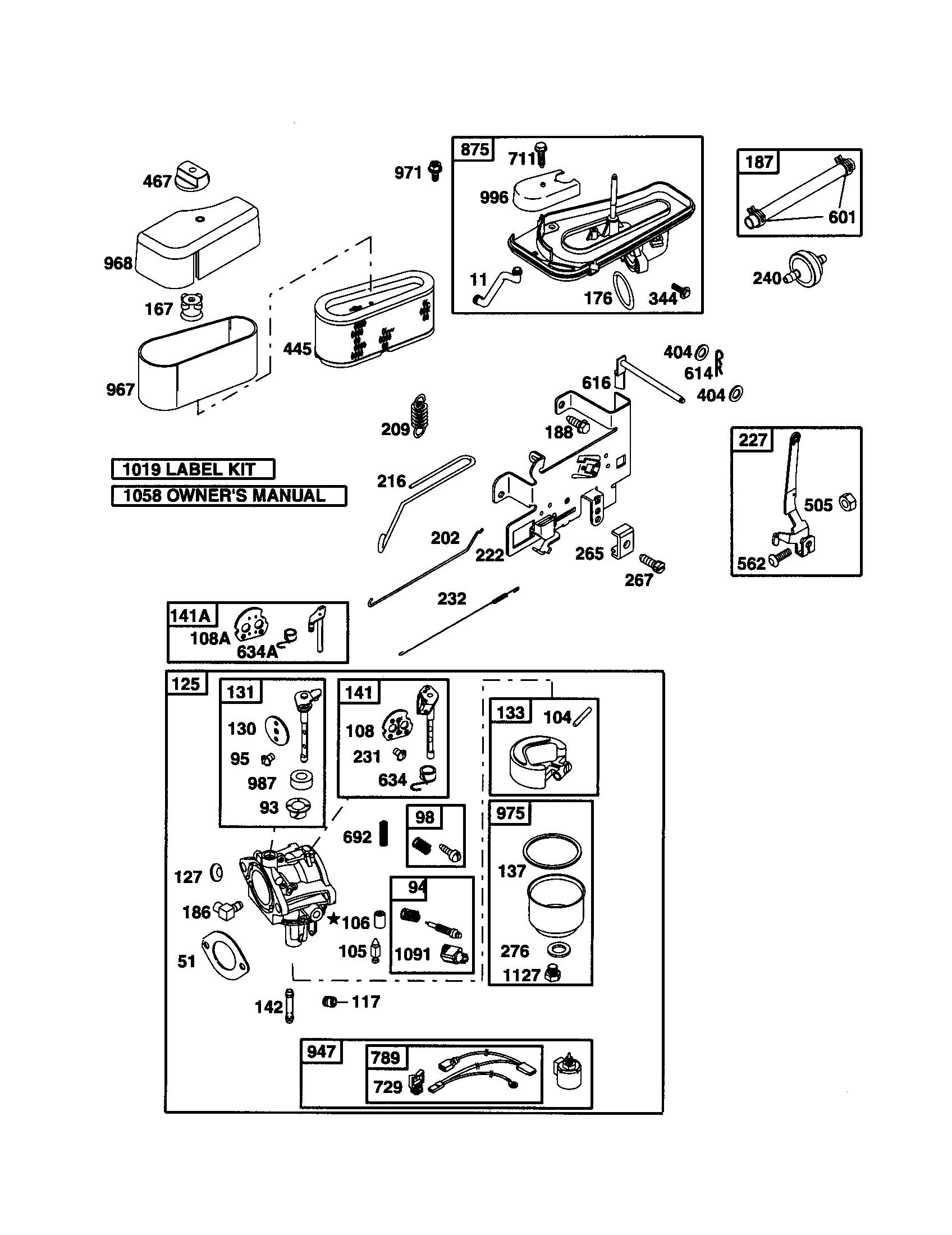 Briggs And Stratton Coil Wiring Diagram