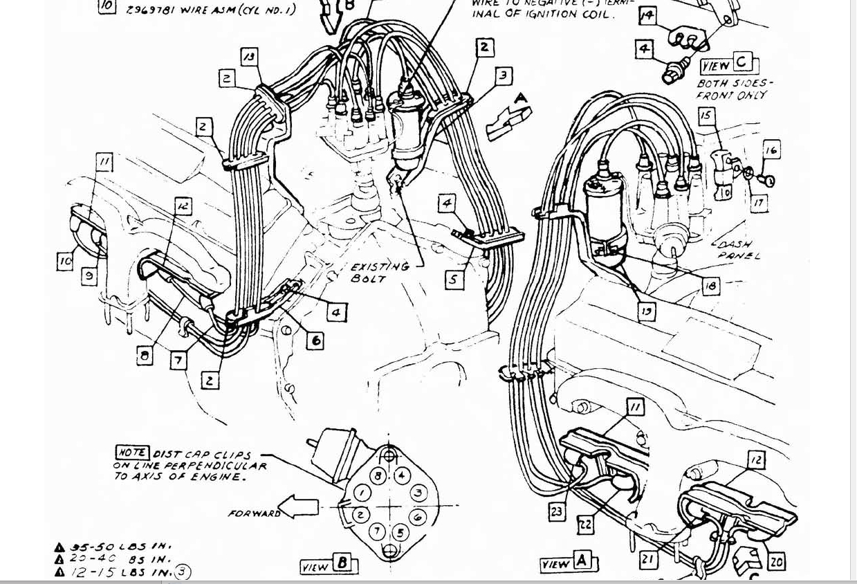 Spark Plug Wiring Diagram Chevy 350