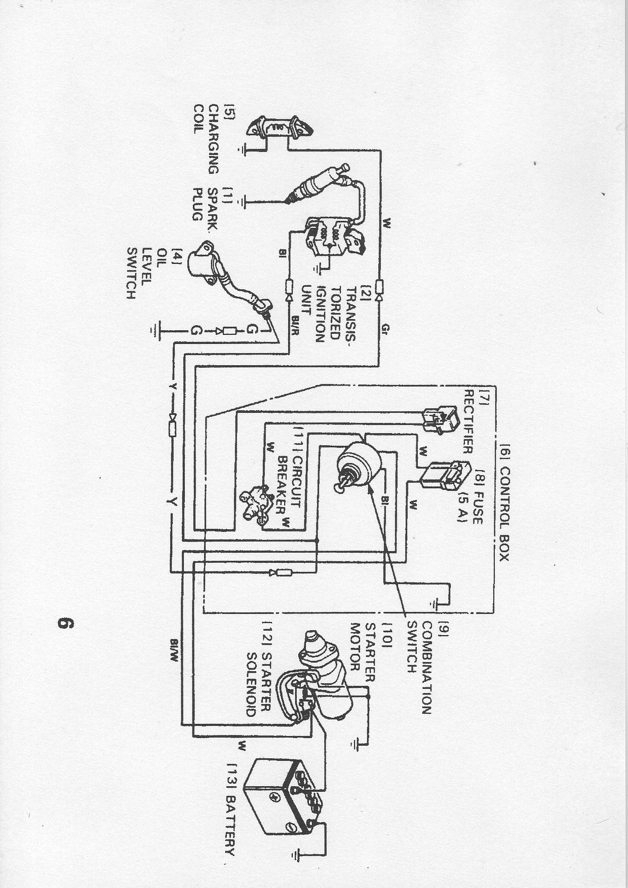 Honda Gx390 Electric Start Wiring Diagram