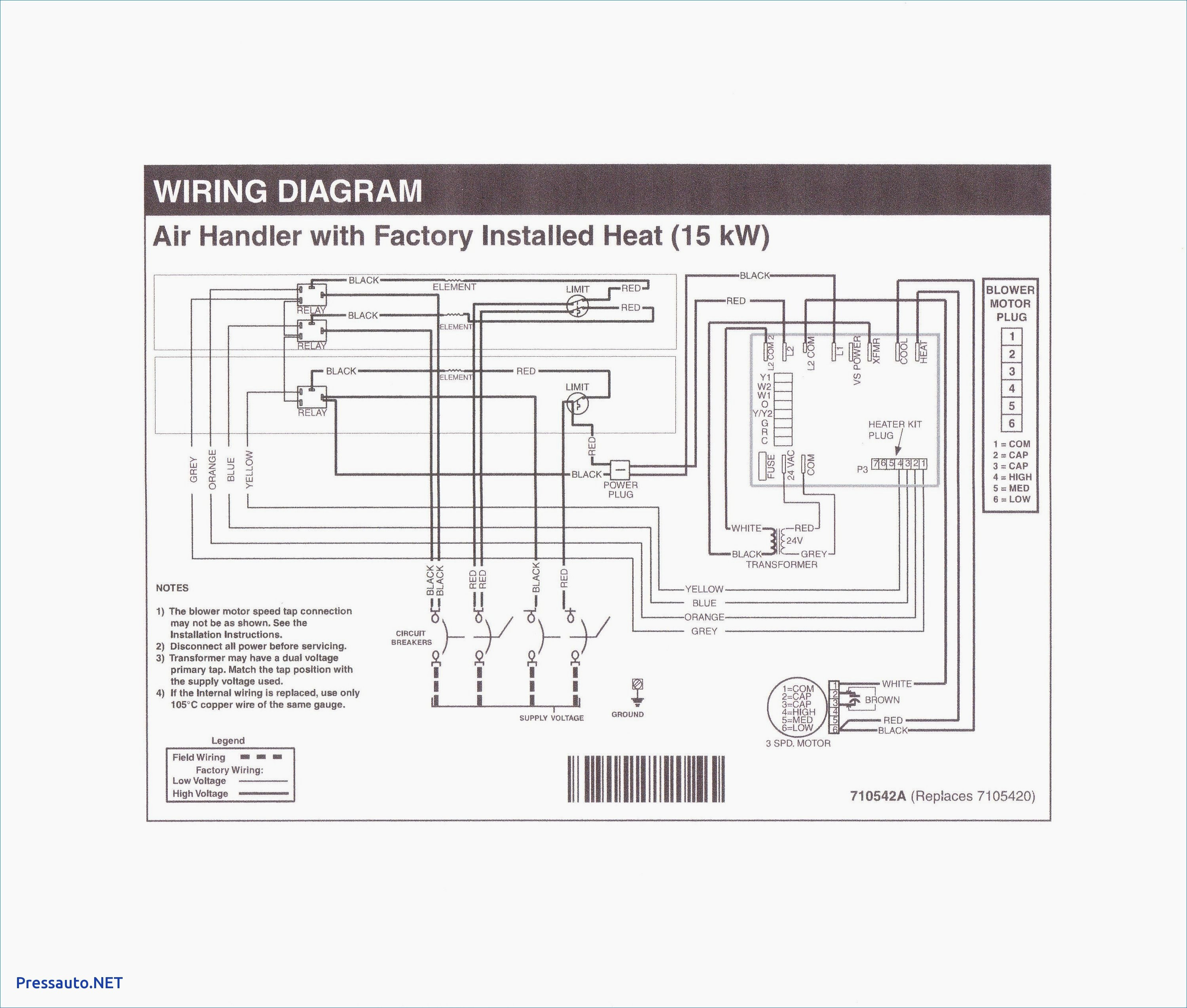 Furnace Wiring Diagram For Blower Motor