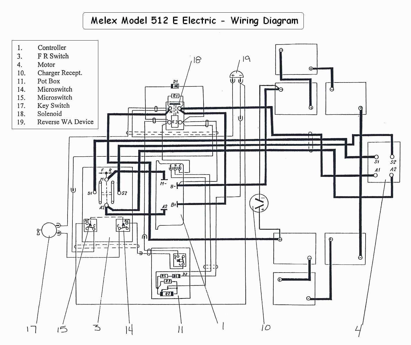 48 Volt Golf Cart Wiring Diagram