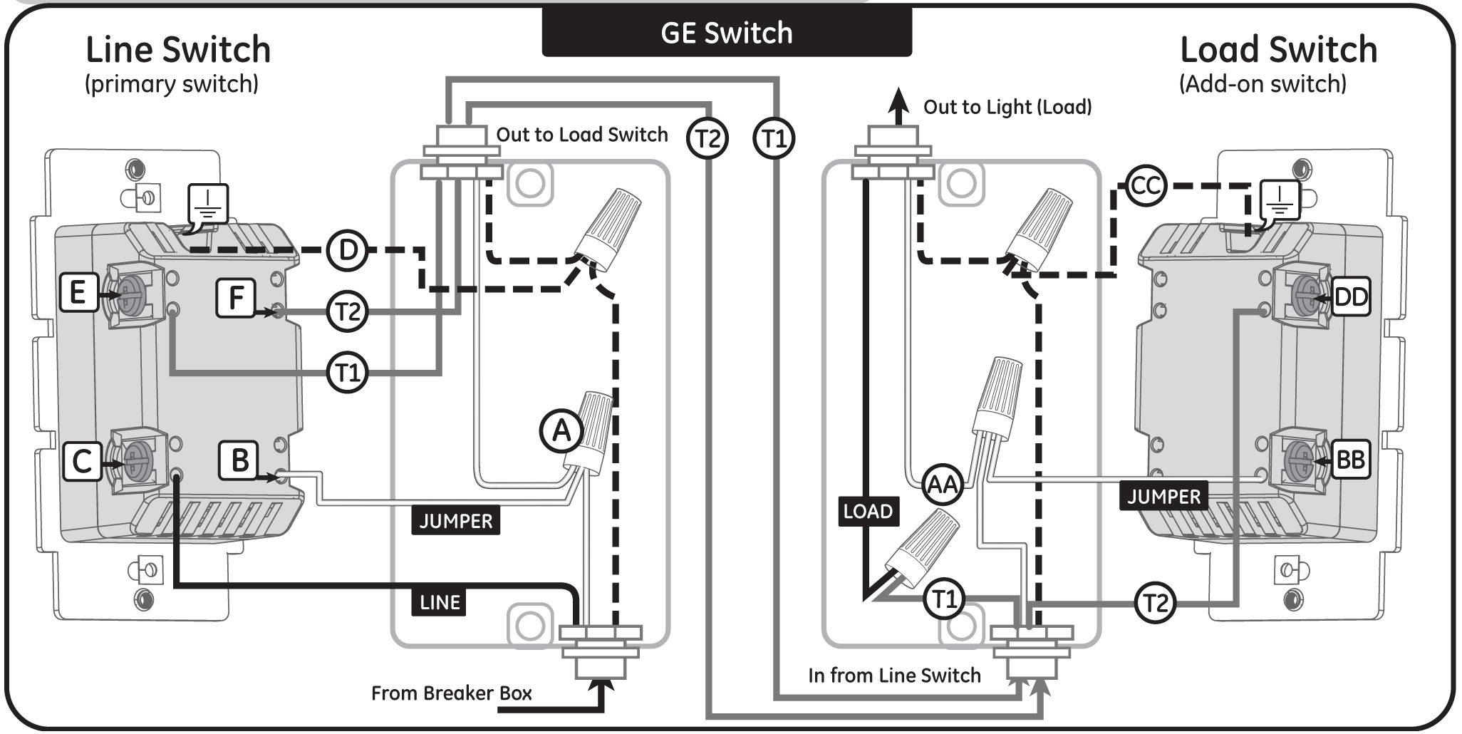 Wire 3 Way Swith Diagram