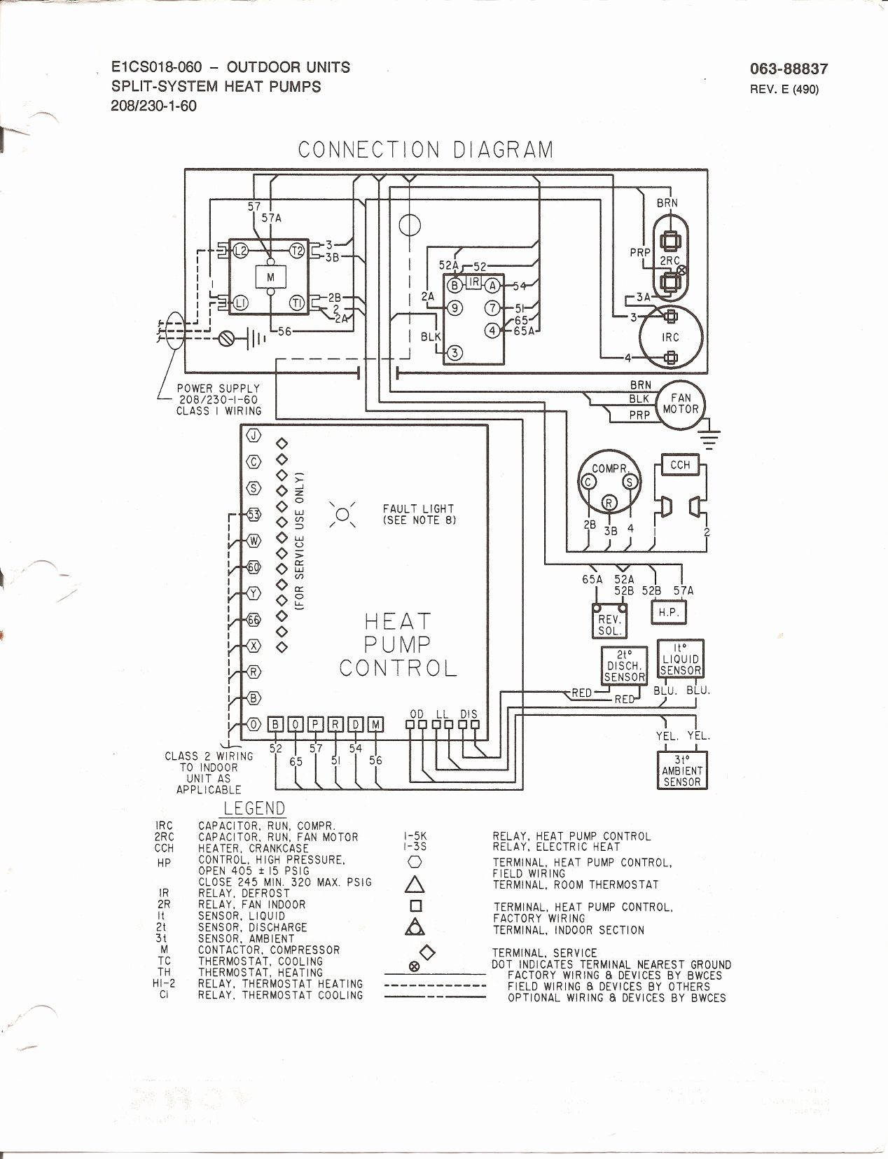 Trane Baysens019b Thermostat Wiring Diagram