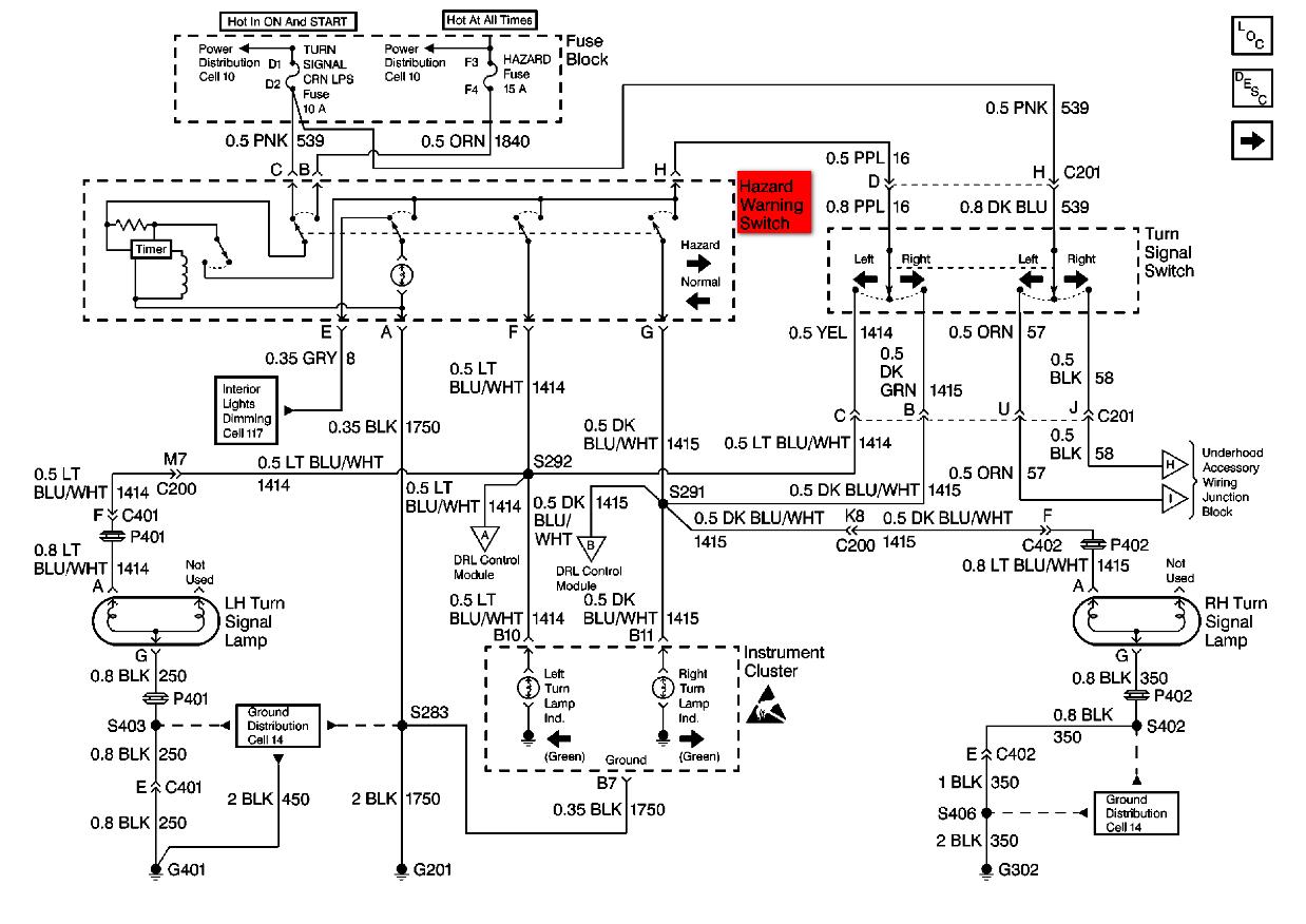 Turn Signal Flasher Wiring Diagram