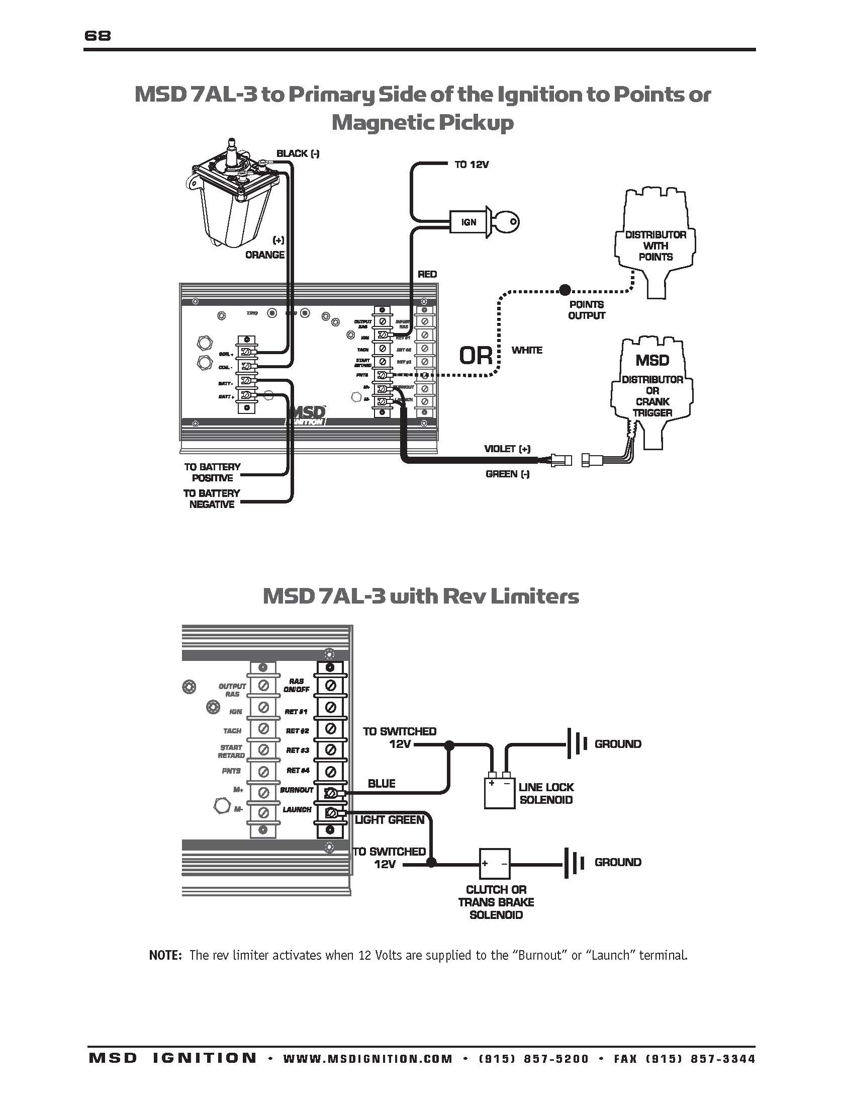 Chevy Hei Distributor Wiring Diagram
