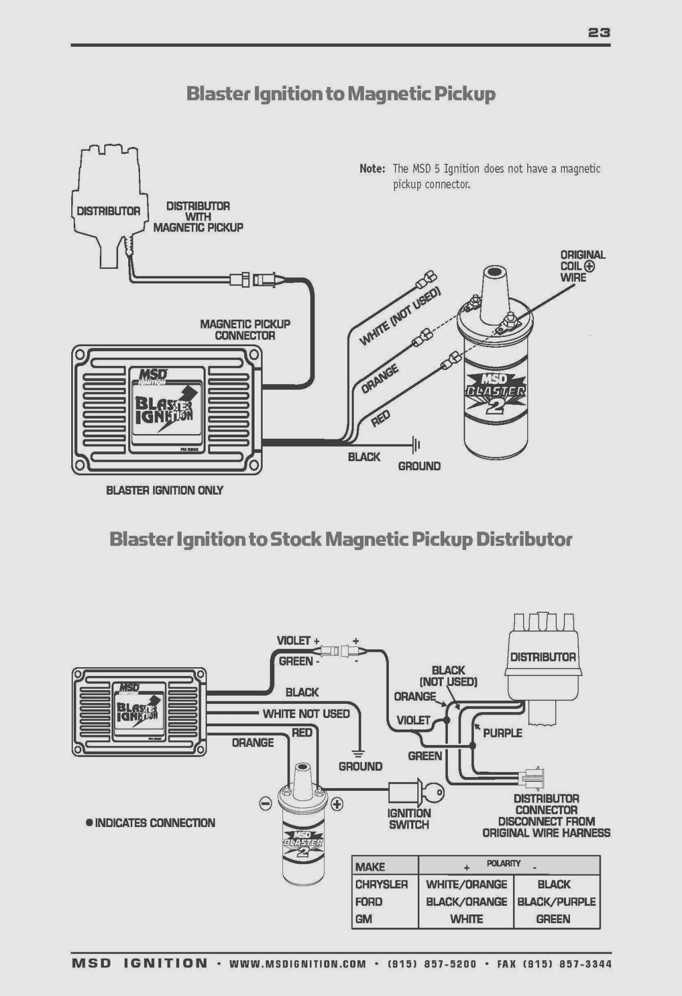 Sunpro Super Tach 2 Wiring Diagram