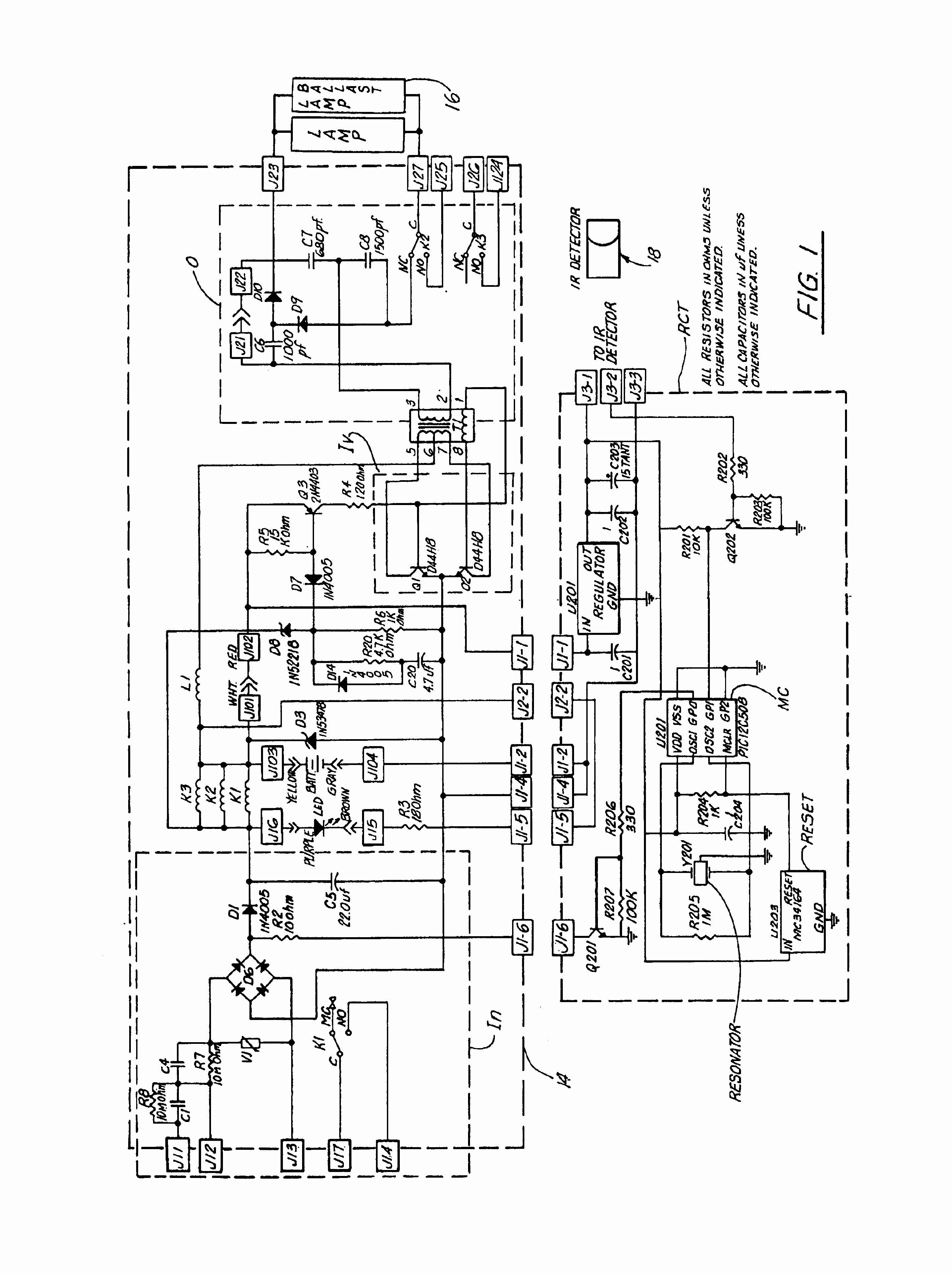 Fluorescent Light Wiring Diagram For Ballast Inspirational