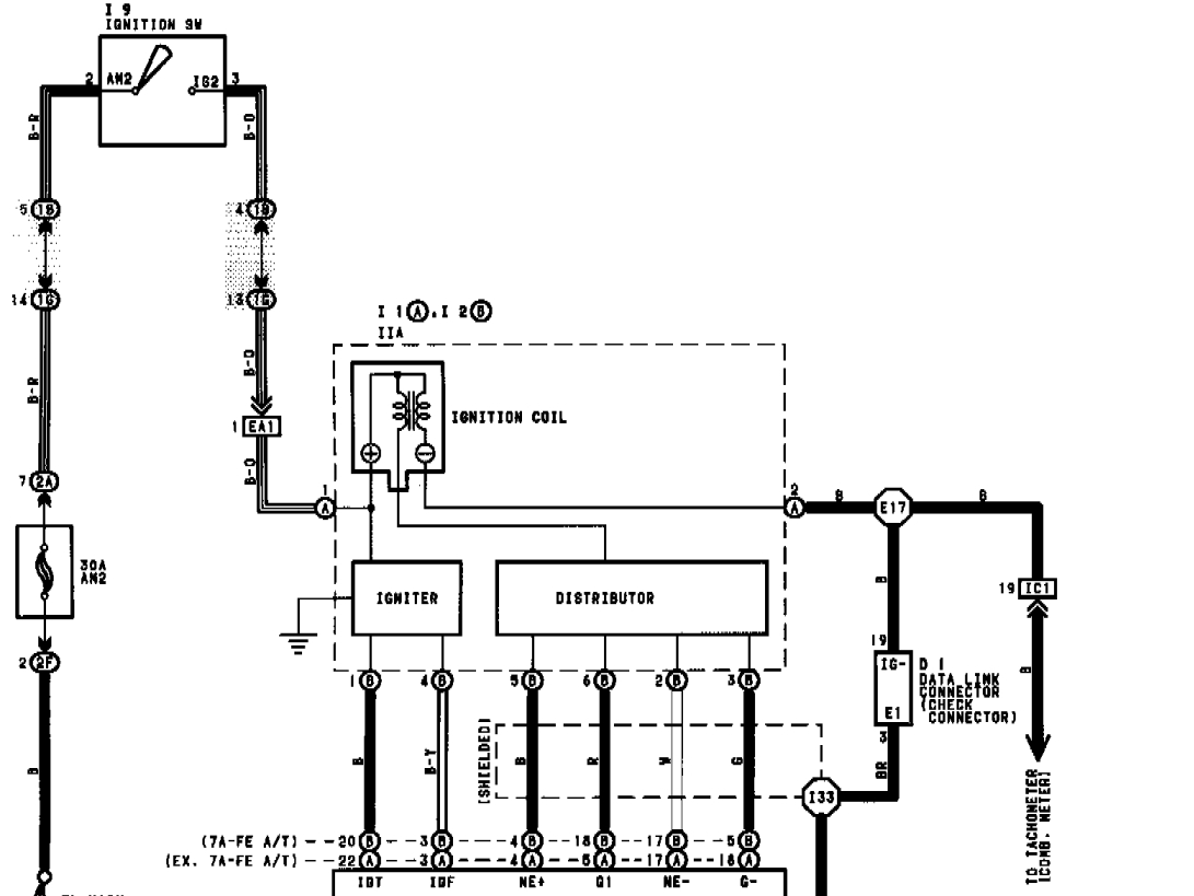 Toyota Igniter Wiring Diagram