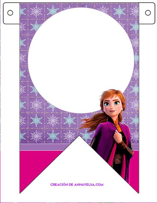 Anna Frozen II Banderines
