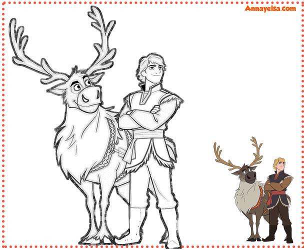 Frozen dibujos para imprimir