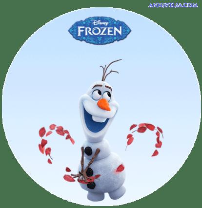 Free Stickers Olaf