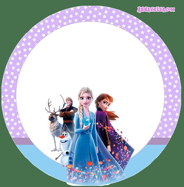 Stickers circulares Frozen II