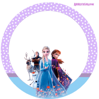 Stickers Frozen II Descarga Gratis