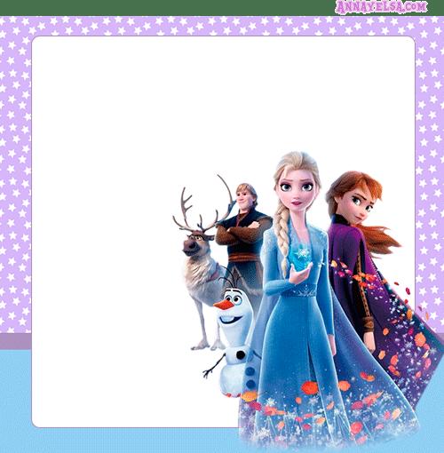 Tarjetas Frozen II