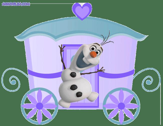 Carruaje molde FROZEN OLAF