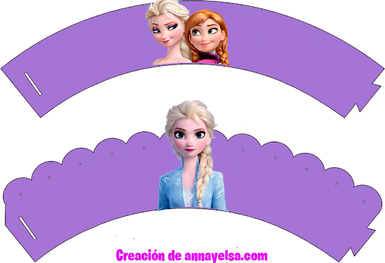 Elsa y Anna Frozen WRAPPERS