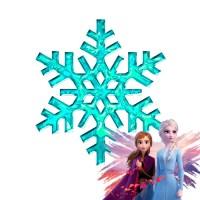 Como hacer estrella de nieve de Frozen con silicona