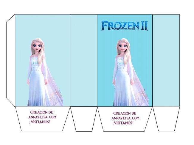 Bolsitas Frozen Elsa Cumpleanos