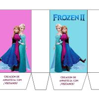 Manualidades de Frozen: bolsitas de Anna Elsa y Olaf