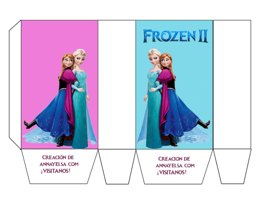 Frozen Box Party Free Printables