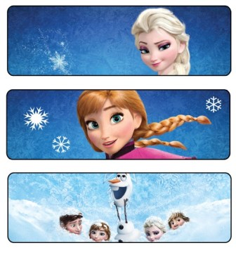 señaladores frozen