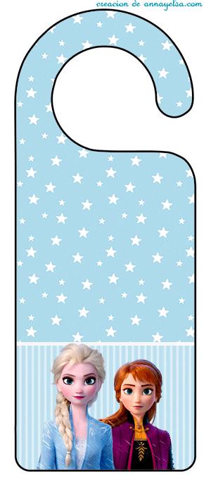 Imprimibles frozen para decoracion