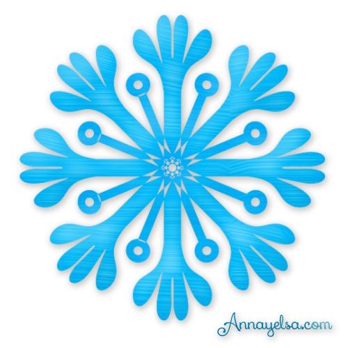 Estrella de Frozen Congelado hielo